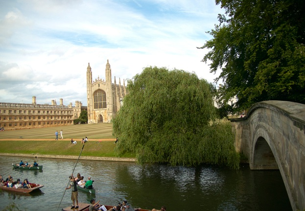 Punting on the Backs by King's College