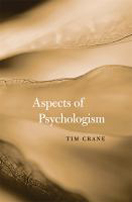 Front cover Crane Aspects of Psychologism