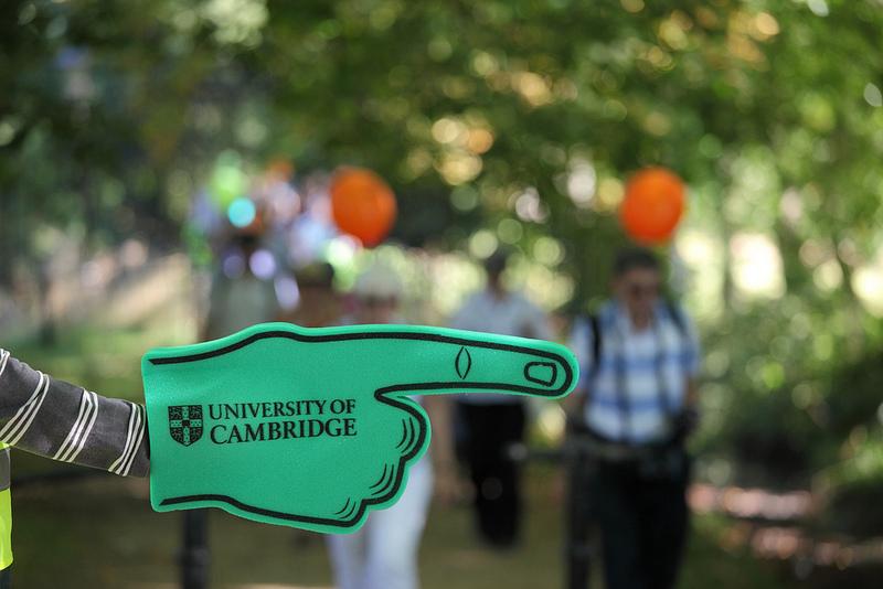 Cambridge University sponge hand