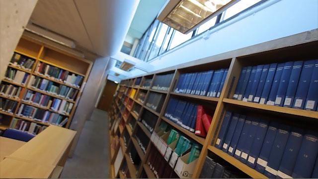 Philosophy Library Shelves