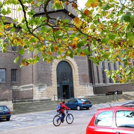 University Library Entrance