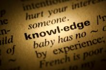 Knowledge in dictionary